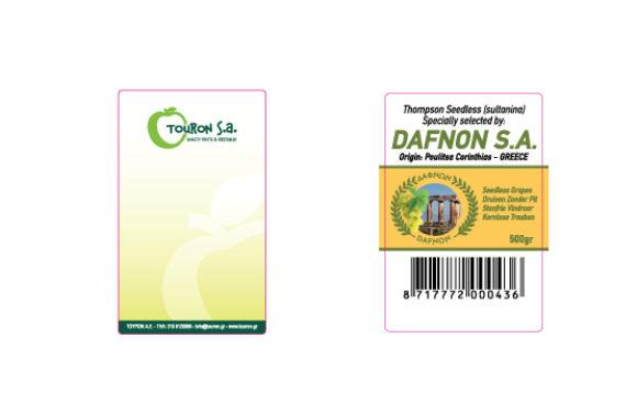 Ετικέτες παντός τύπου Touron - Dafnon